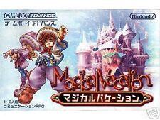 Jeux vidéo anglais pour jeu de rôle et Nintendo Game Boy Advance