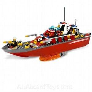 nuovo Lego Town  città FIRE 7906 FIRE BOAT Sealed  buon prezzo