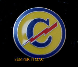 US-ARMY-CONSTABULARY-HAT-PIN-GERMANY-WW-2-GERMAN-Circle-C-Cowboys-POLICE-MP-USA