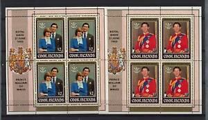 Cook-Islands-1982-Royal-Birth-MNH-Sheetlets-Set