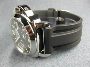 New-24mm-HQ-Soft-Rubber-Diver-Strap-Watch-Band-Fit-PANERAI-44mm-Black-24-mm-X
