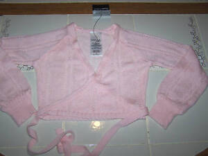 Nwt-New-Danskin-Sweater-Wrap-Crop-Gymnastics-Dance-Pink-Cute-Nice-Adult-AM-M