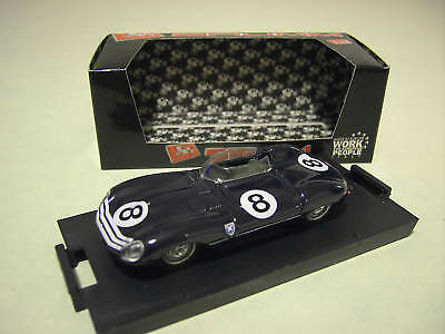 Jaguar D Type Silverstone 1956 8 1/43 Brumm R152 Voiture Miniature D Collection