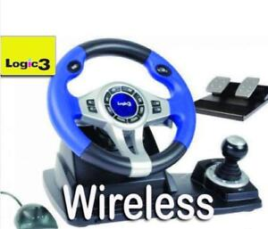 PS3-PS2-PC-WIRELESS-STEERING-WHEEL-AND-PEDALS-LOGIC3