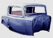 Ford-3-Window-Coupe-All-Steel-UNassembled-Body-32-1932