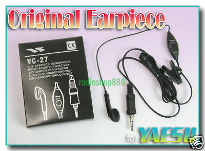 YAESU VC-27 Earpiece for VX-170 VX-177 VX-6R VX-7R VC27