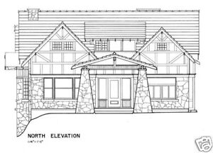 Image Is Loading Bungalow Home Plans A Fine Craftsman Style House