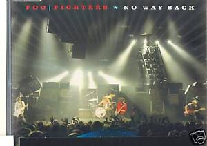 FOO FIGHTERS No Way Back RARE PROMO Only CD Single