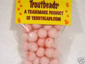 TROUTBEADS COTTON CANDY  10 MM TROUT BEADS