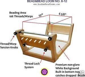 BEAD-WEAVING-LOOM-SEED-BEAD-LOOM-BEAD-amp-BEAD-No-8x12
