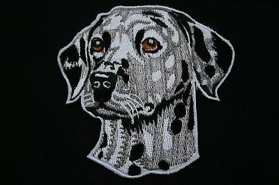 ECUSSON Brodé - PATCH Thermocollant - DALMATIEN / 85x85mm / DOG / PATCHE