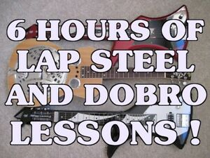 6-Hours-Of-Dobro-Lap-Steel-Guitar-Lessons-On-1-Disc-C6-E7-And-Open-G-Tuning