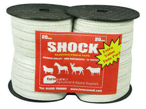 Electric Fence / Fencing  20mm Tape Twin Pack
