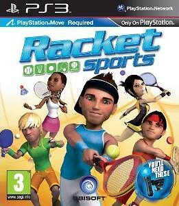 PLAYSTATION MOVE RACKET SPORTS  PS3 Game (New & Sealed)