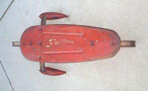 SNO-ROCKET-Incredibly-Rare-1950s-Sno-Ler-SLED