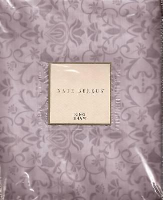 Nate Berkus Wilshire King Sham Dusk Lavender