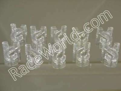 50 Clear Hinged Ceiling Hook 3/4 Wde X 1 3/8 Lng Lexan