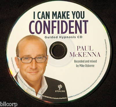 """I CAN MAKE YOU CONFIDENT"" GUIDED HYPNOSIS CD MCKENNA"