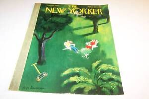 AUG 12 1950 NEW YORKER magazine cover