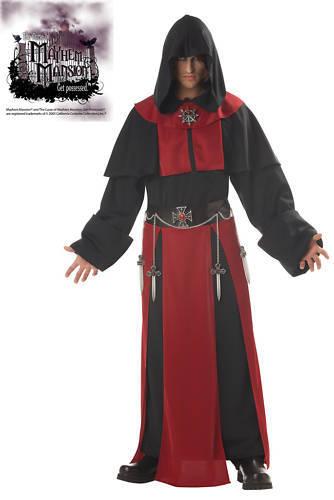 Gothic Priest Monk Dark Minion Assassin's Creed Warrior Adult Costume
