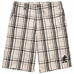NEW-Disney-Parks-Authentic-Plaid-Embroidered-Mickey-Mouse-Guys-Mens-Shorts-Sz-30