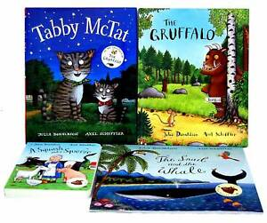 Julia-Donaldson-4-Books-Collection-Set-Axel-Scheffler