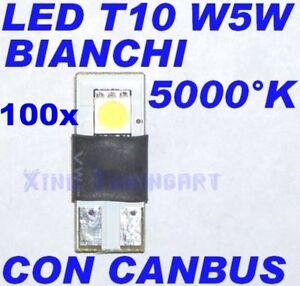 Nr-100-Canbus-SMD-LED-White-White-T10-W5W-Check-Lights