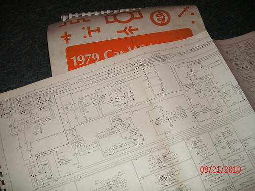 1979 Ford Fairmont Mercury Zephyr Wiring Diagrams Set