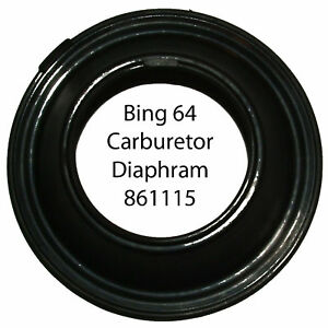 Bing-64-Carburetor-Diaphram-ROT-861-115