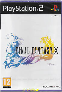 Final Fantasy X Brand New Factory Sealed PS2 Game
