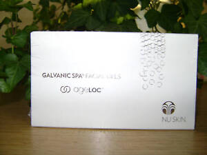 NU SKIN GALVANIC SPA FACIAL GELS With AgeLOC -4 boxes