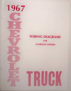 67 1967 chevy truck wiring diagram manual image is loading 67 1967 chevy truck wiring diagram manual