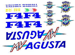 MV AGUSTA F4-750 S EV02 EV03  DECAL STICKERS KIT