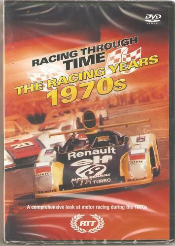 THE RACING YEARS 1970s DVD RACING THROUGH TIME (70'S F1 MOTOR RACING AND MORE)