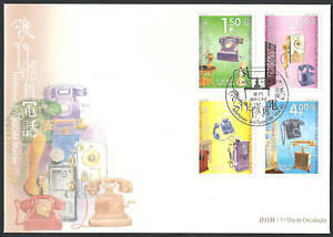 Macau-China-2010-Antique-Telephones-in-Macao-FDC
