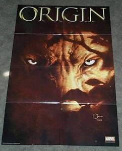 36-x-24-X-Men-Wolverine-Origin-4-Marvel-Comics-comic-book-promo-poster-3-x-2-ft