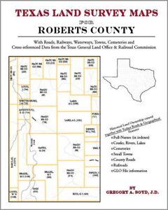 Roberts-County-Texas-Land-Survey-Maps-Genealogy-History