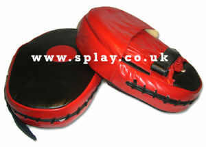 Splay PU Focus Pad Red boxing pads punch bag kick training mitts pad jab thai