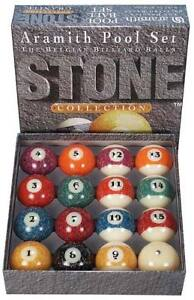 Aramith Stone Collection Granite Pool Balls Set Ebay
