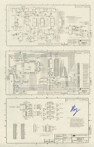 Steve-Wozniak-SIGNED-Apple-1-Schematic-Diagram-RARE