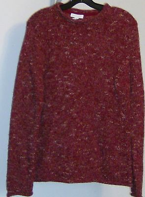 Charter Club Sweater Womens Size Small With Tags Flame Red Fafa Ii