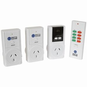 Remote Control Mains Switch Power Point w/ 3 Outlets