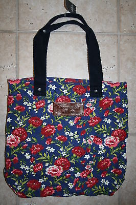 Abercrombie & Fitch Flower Book Tote Bag