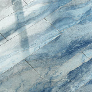 Elesgo Laminat Superglanz Floor V5 Blue Azul V-fuge Hochglanz ... Fliesen Laminat Glnzend