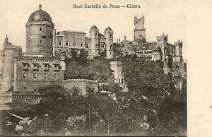 CPA-PORTUGAL-REAL-CASTELLO-DA-PENA-CINTRA