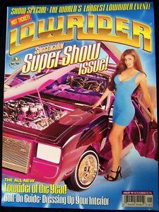 LOWRIDER MAGAZINE January 1998 '98 SUPER SHOW ISSUE New Rare!!