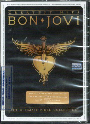 Bon Jovi Ultimate Collection: DVD BON JOVI GREATEST HITS ULTIMATE VIDEO COLLECTION