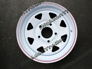 Sunraysia-Rim-13-HT-Holden-Wheel-Pattern-Trailer-Caravan-Camper-Boat-Part-White