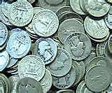 LOT OLD US JUNK SILVER COINS 1/2 LB PRE 1965 READABLE DATES FREE SHIPPING