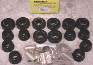 Body Cab Mount Bushing Cushion Kit Set IH International Harvester Scout II 64101